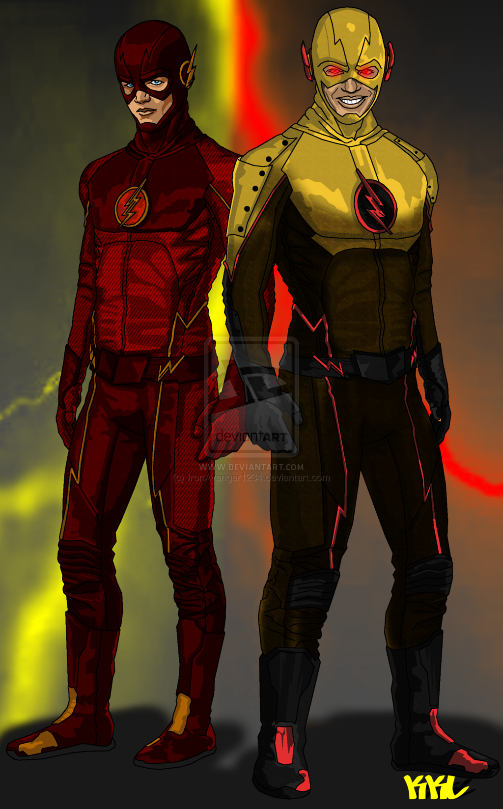 Free Download The Flash And The Reverse Flash By Ironavenger1234