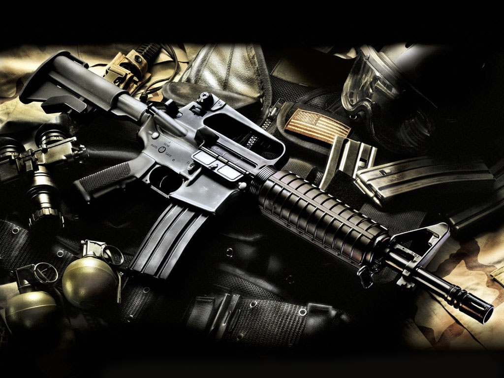 Weapons: New Gun Wallpaper