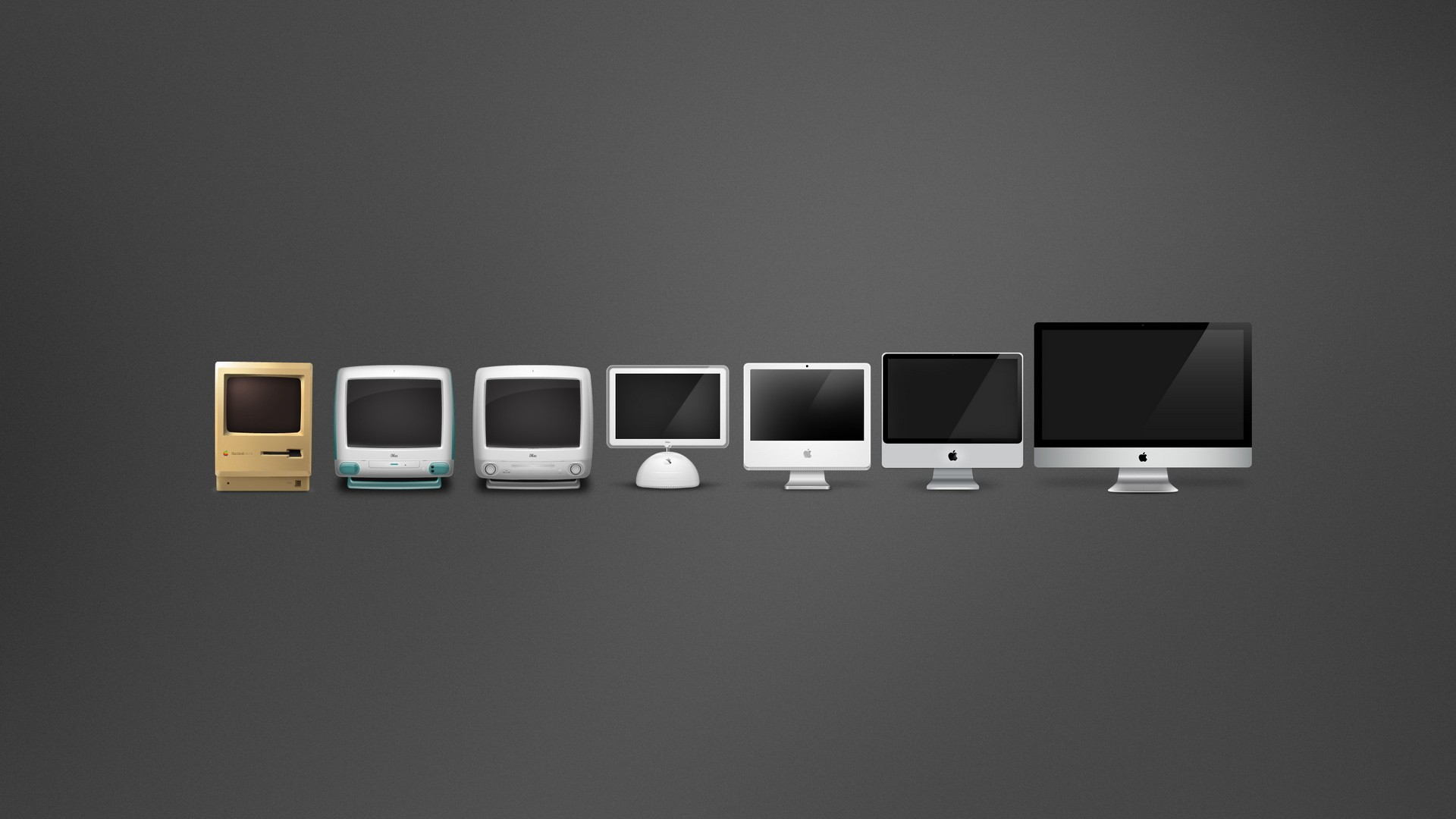 1920x1080 Macintosh Evolution desktop PC and Mac wallpaper 1920x1080