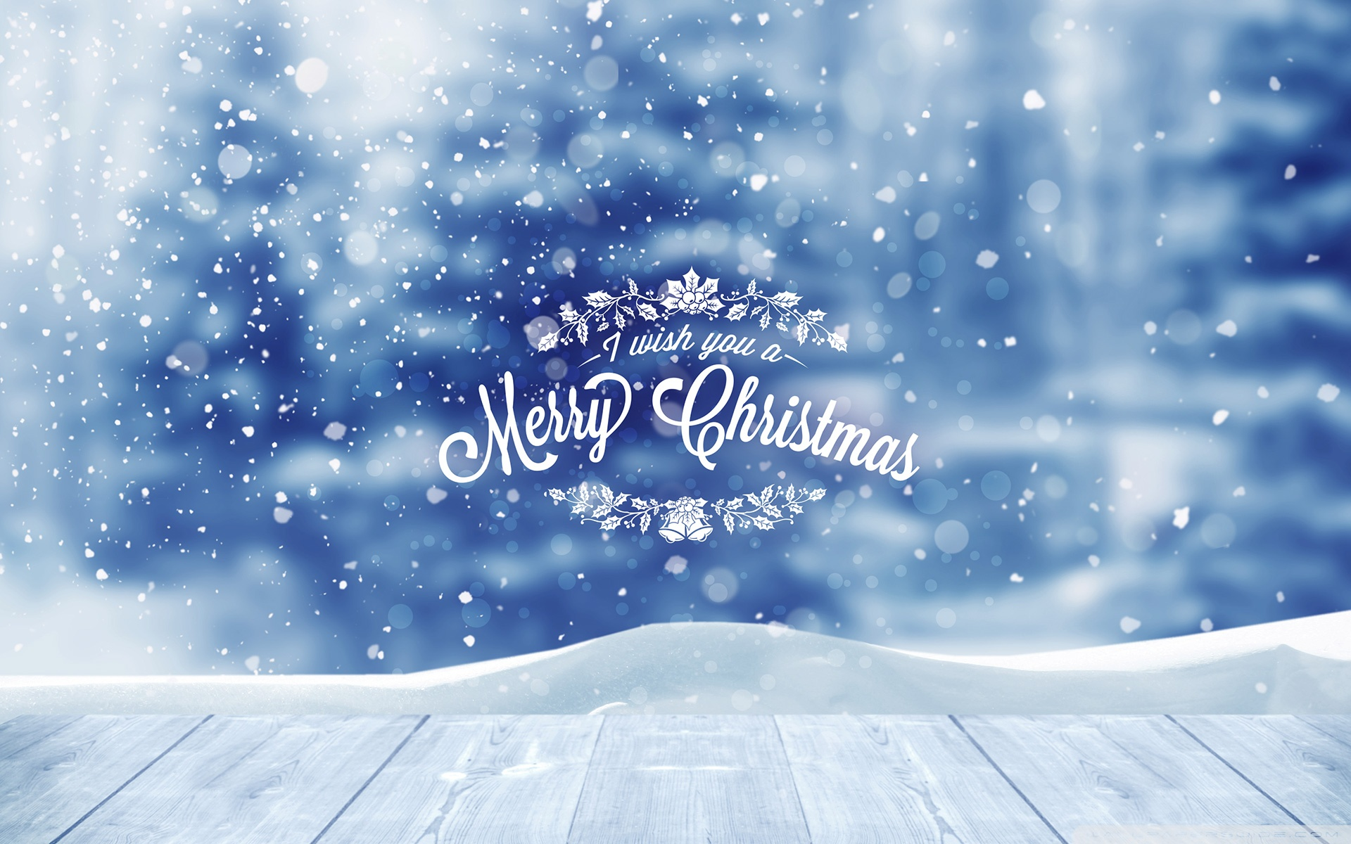 I wish you a Merry Christmas by PimpYourScreen 4K HD Desktop 1920x1200
