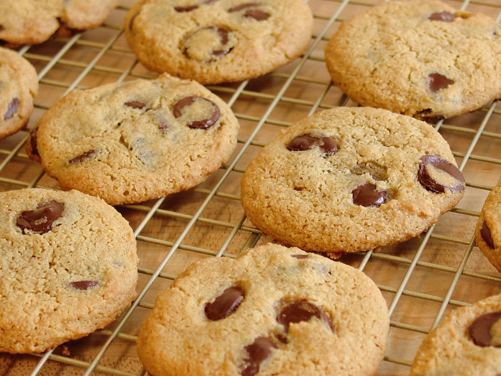 chocolate chip cookie wallpaper - photo #20