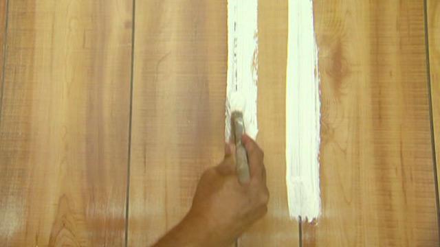 How to Brighten Up Dark Wood Paneling | Today's Homeowner - Wallpaper Over Wood Panel - WallpaperSafari