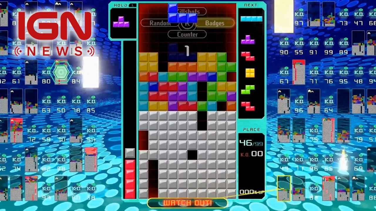 Tetris 99 is a Battle Royale Game for Switch   IGNcom 1280x720