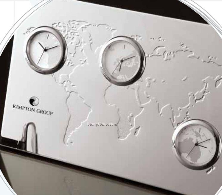Time Zone Clock Wallpaper WallpaperSafari