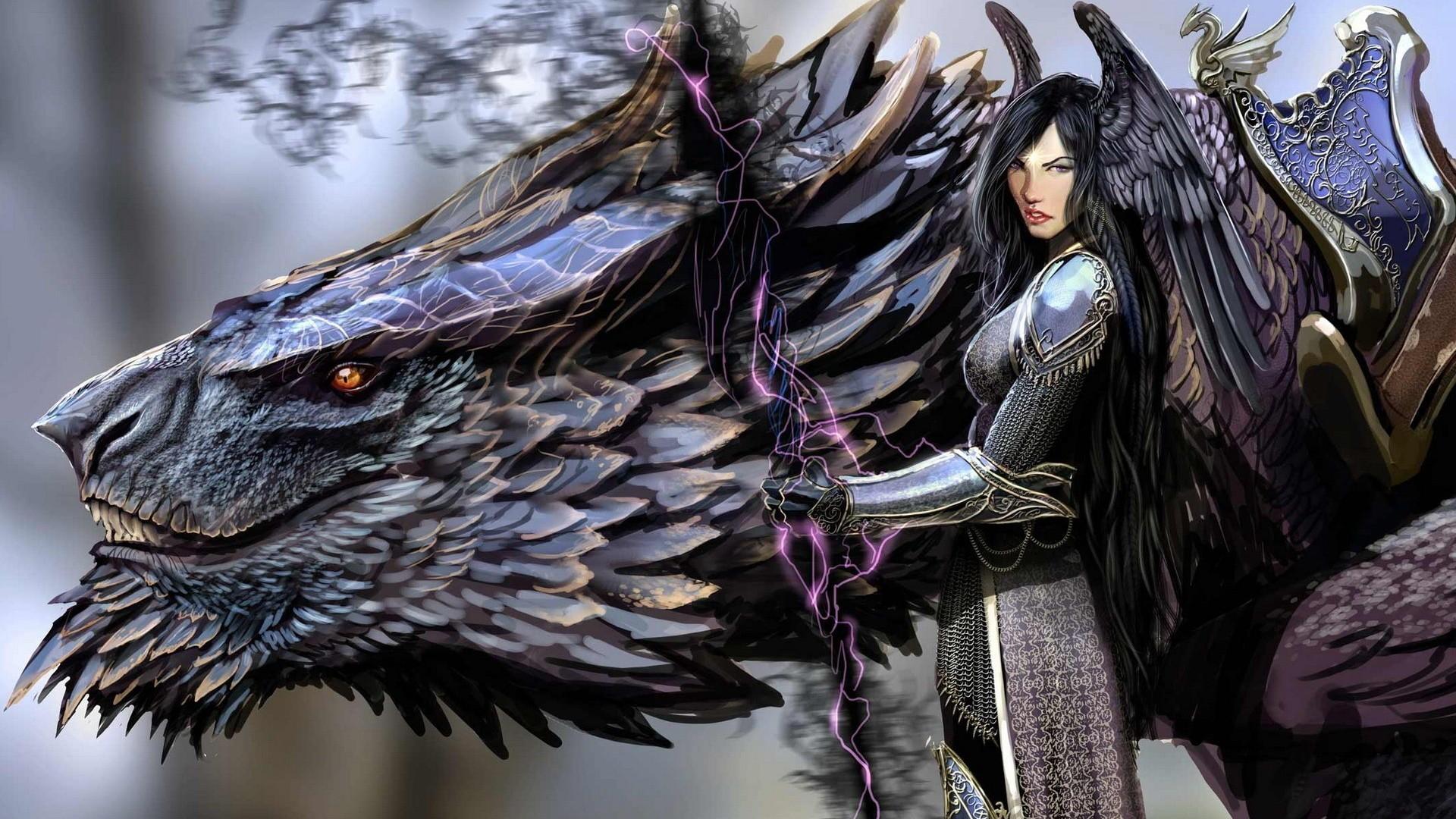 Download Black Dragon Fantasy HD Wallpaper 4276 Full Size 1920x1080