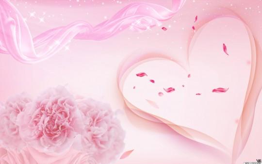Pink Love Wallpaper Hintergrundbilder   WallpaperMe 540x338