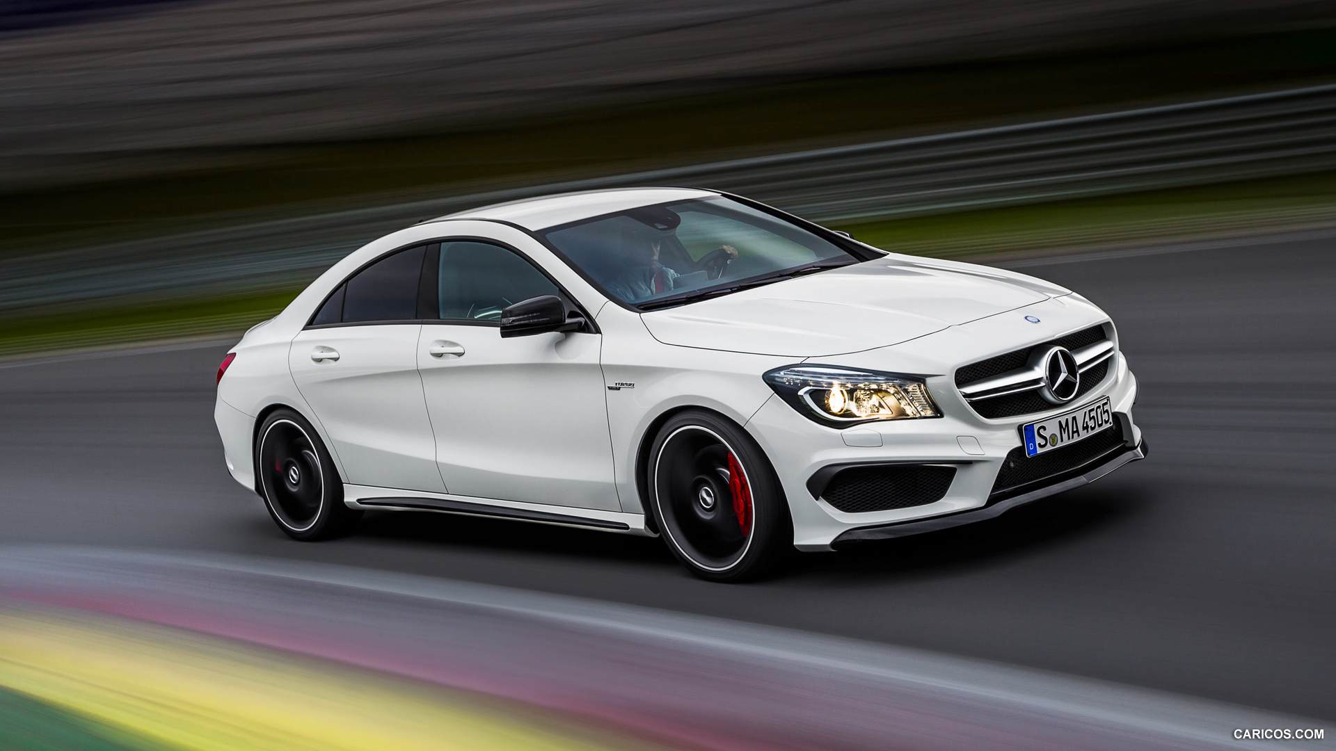 2014 Mercedes Benz CLA 45 AMG   Front HD Wallpaper 14 1920x1080
