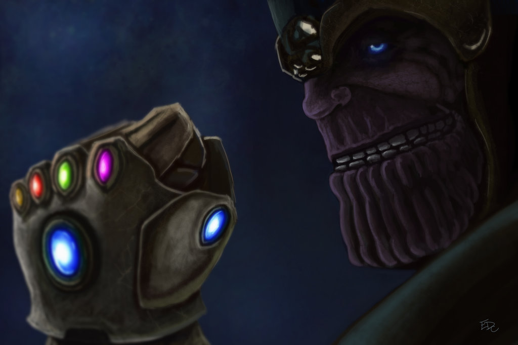Thanos Hd Wallpaper Wallpapersafari