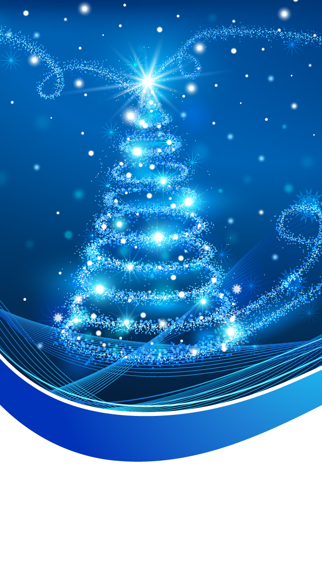 Free Download Christmas Iphone 5 Wallpaper Christmas Tree