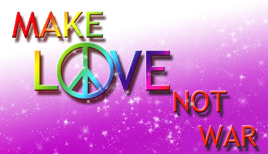 World Peace images Make love not war wallpaper photos 23457235 913x527