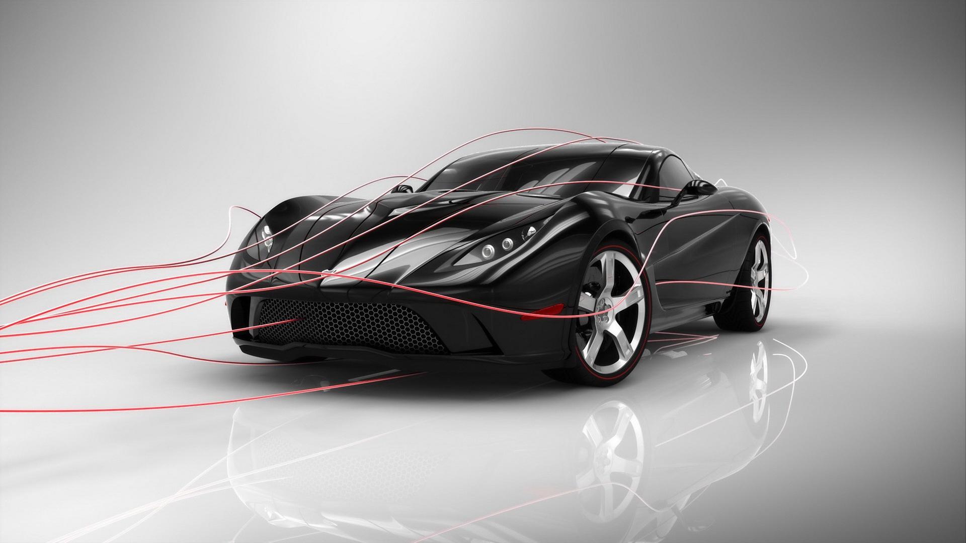 Corvette Concept Car Wallpaper