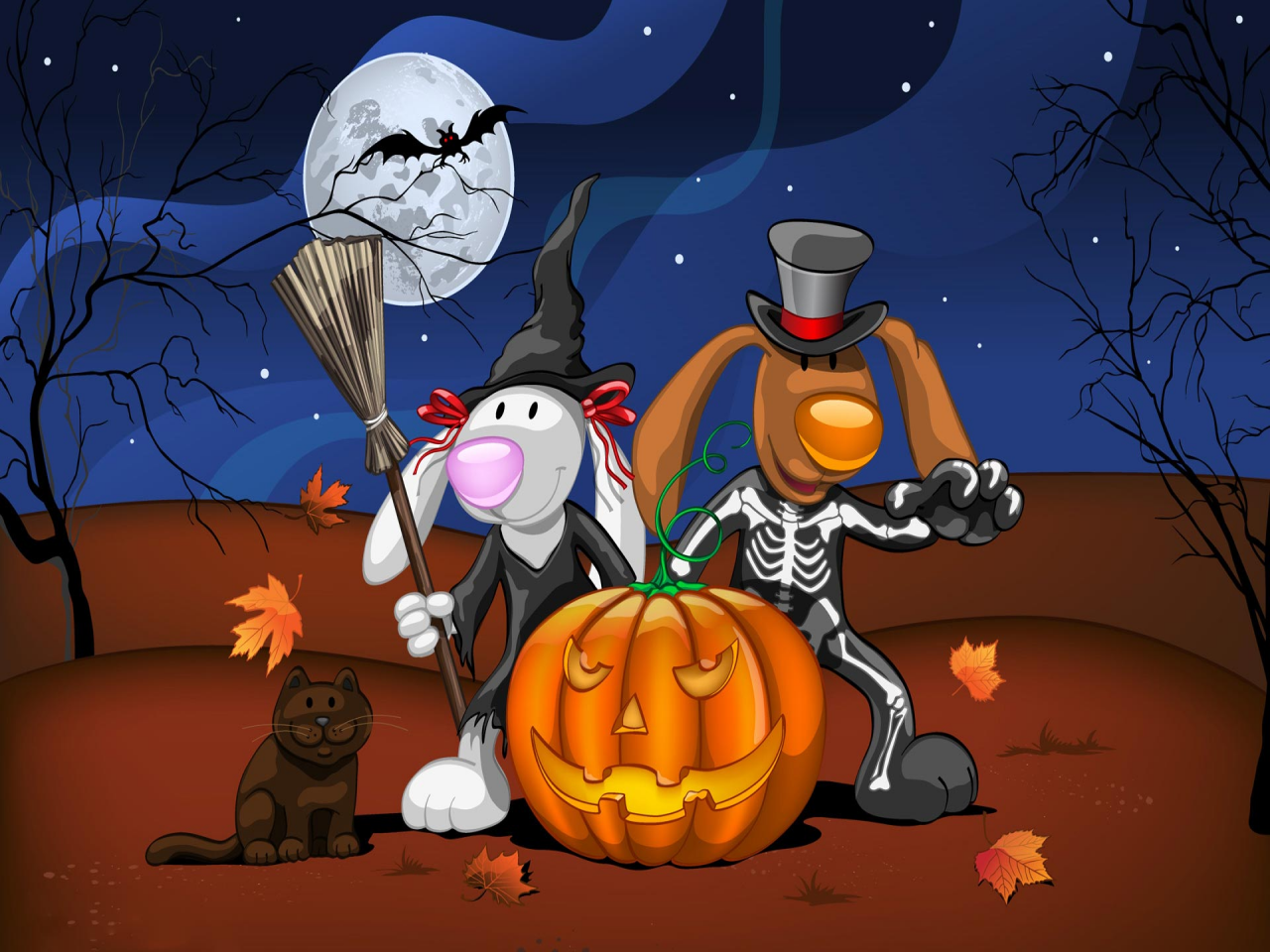 bigbackgroundcomhalloweenscary halloween desktop wallpaperhtml 1280x960