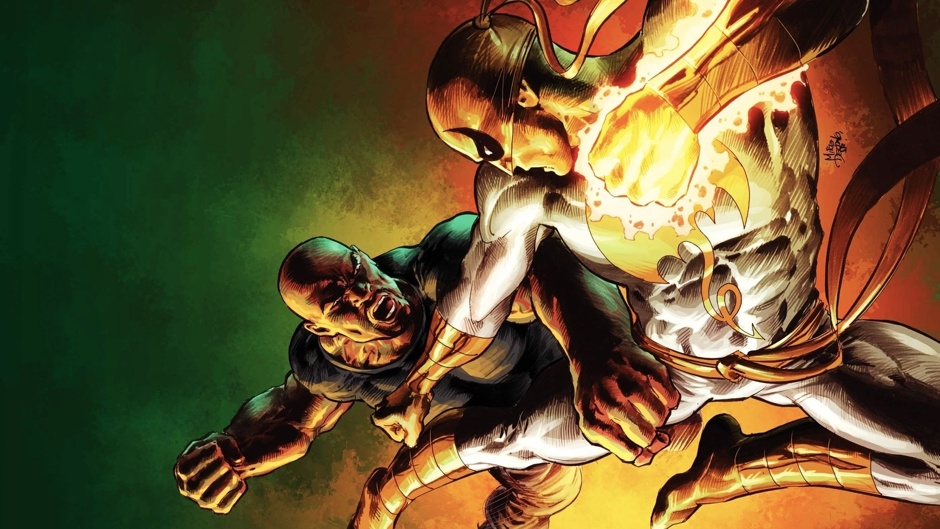 Luke Cage Hd Marvel Wallpaper 1920x1080