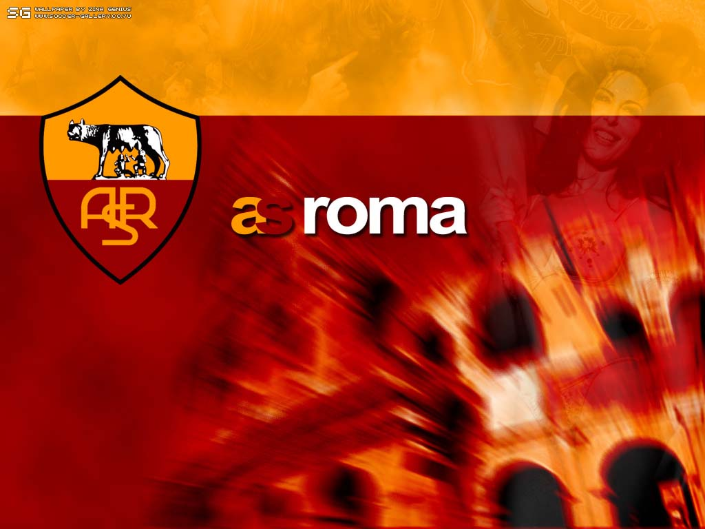 AS Roma Wallpapers Logo HD Wallpapers Backgrounds Photos Pictures 1024x768
