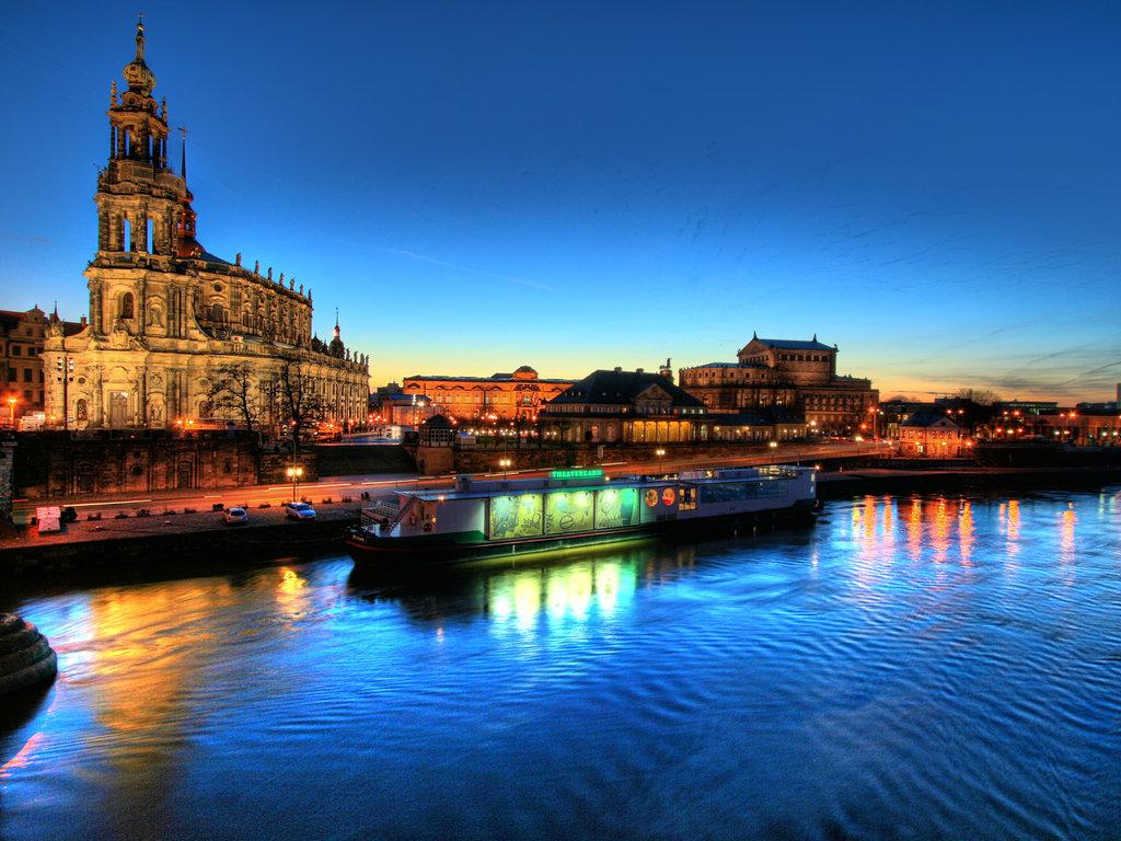 Hofkirche Dresden HD Wallpaper Background Images 1024x768