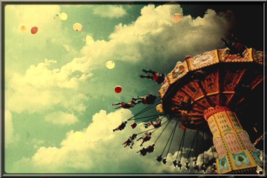 Merry Go Round by 2PaperDreams 900x599