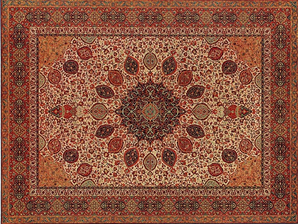 Persian Rug Wallpaper Home Decor
