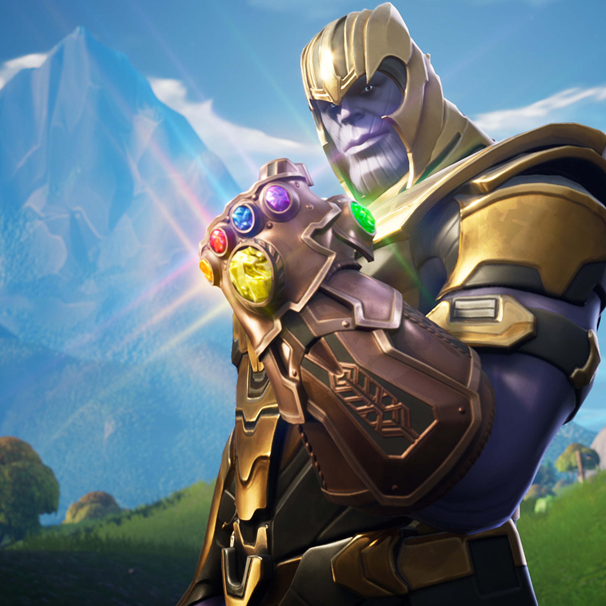 31 Fortnite Thanos Wallpapers On Wallpapersafari