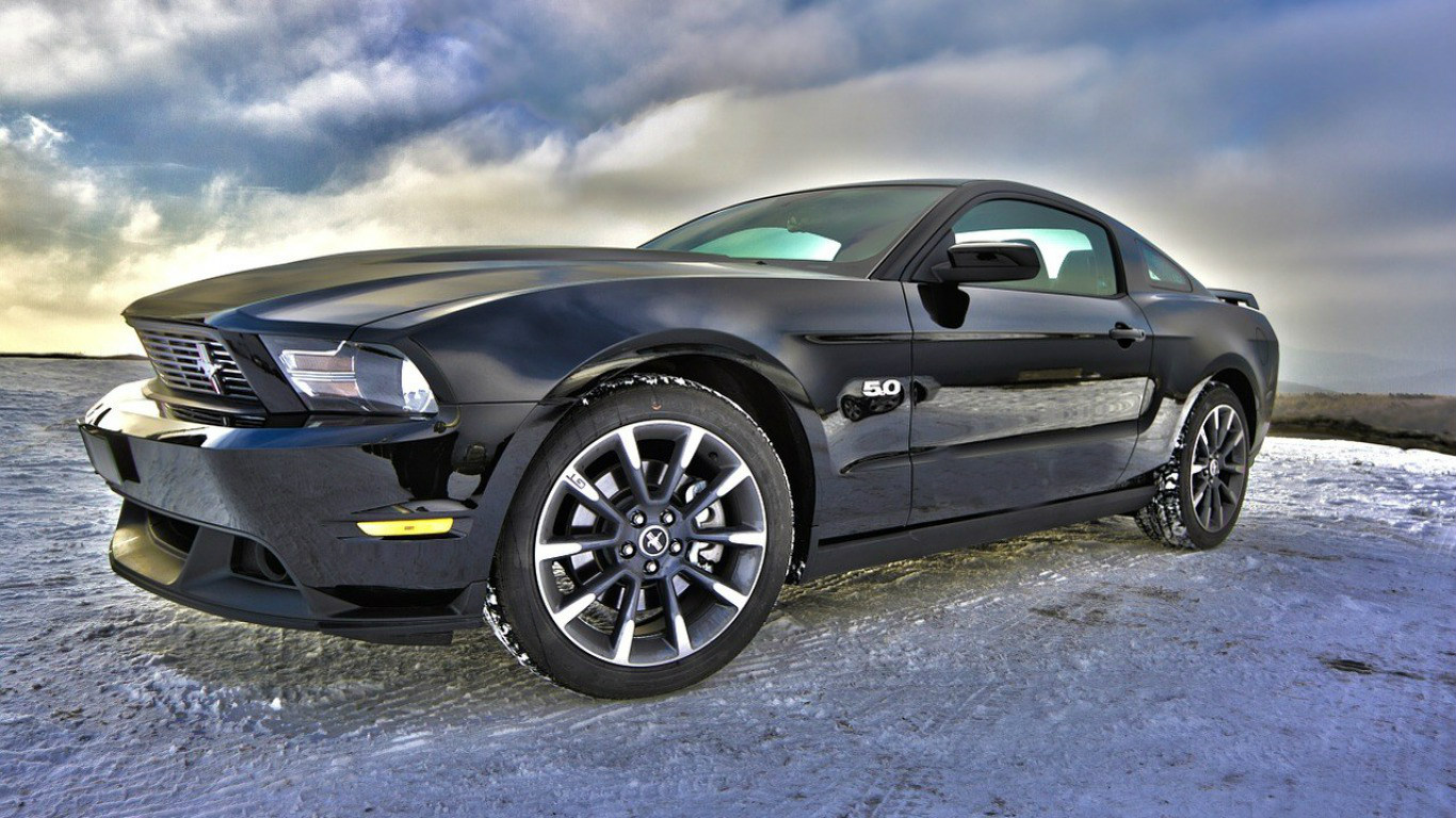Ford Mustang Muscle Car HD Wallpaper   HD 1366x768
