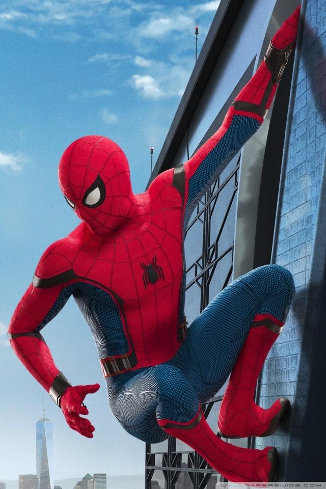 Movie   Spider Man Homecoming 4K HD Desktop Wallpaper for 4K 640x960