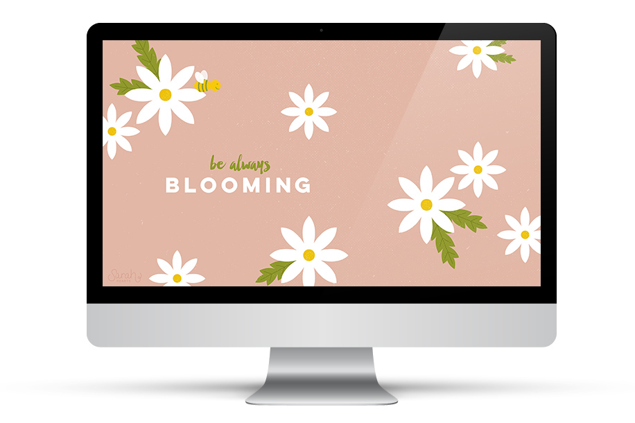 Add some inspiration to your desktop with this daisy wallpaper 916x610