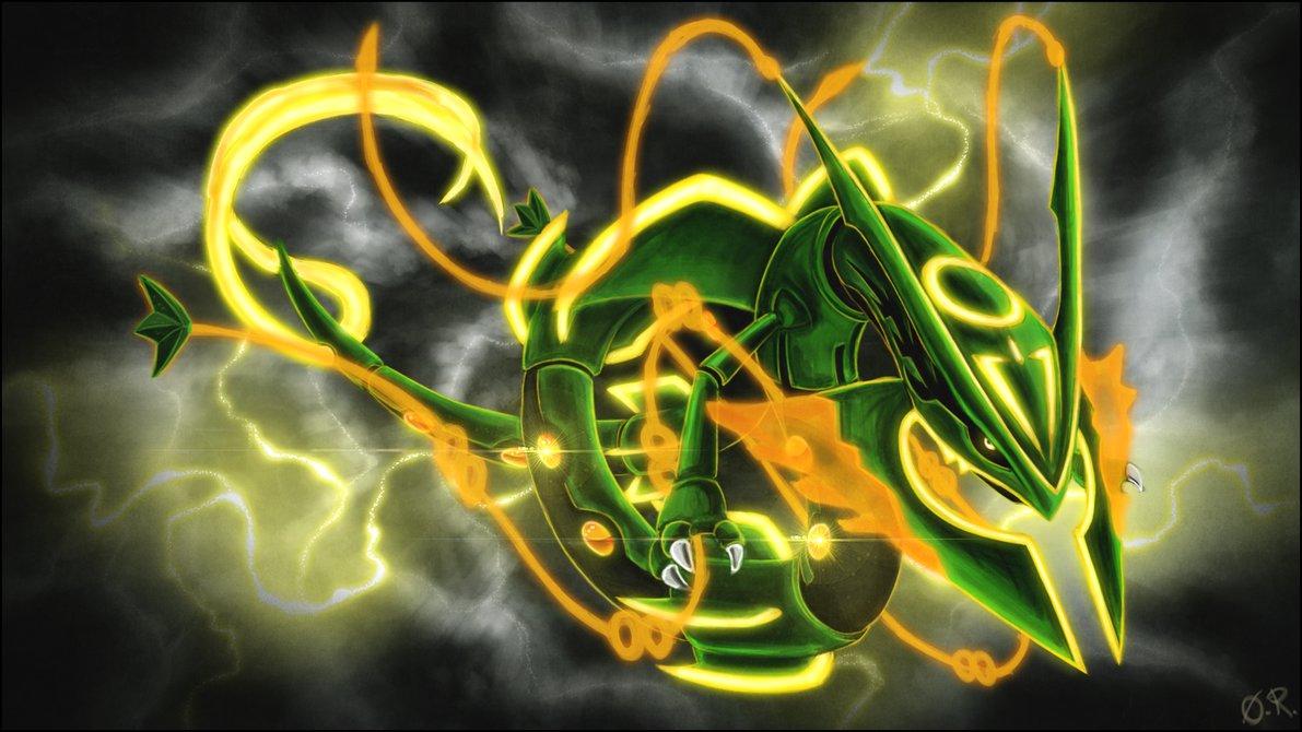 Mega Rayquaza HD Wallpaper - WallpaperSafari Pokemon Shiny Kyogre