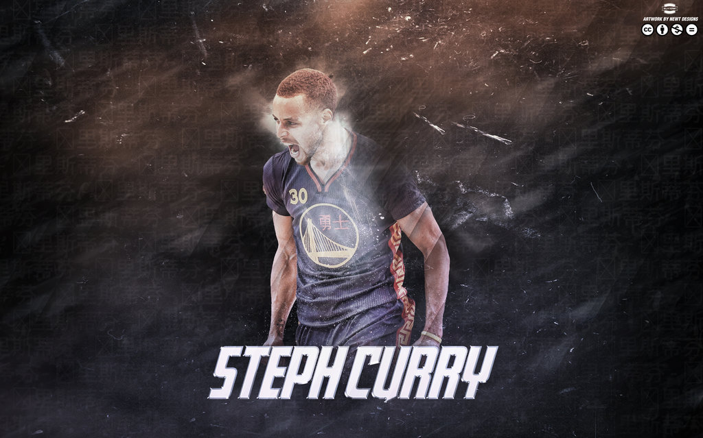 Stephen Curry Wallpaper by NewtDesigns by newtdesignsdeviantart 1024x639
