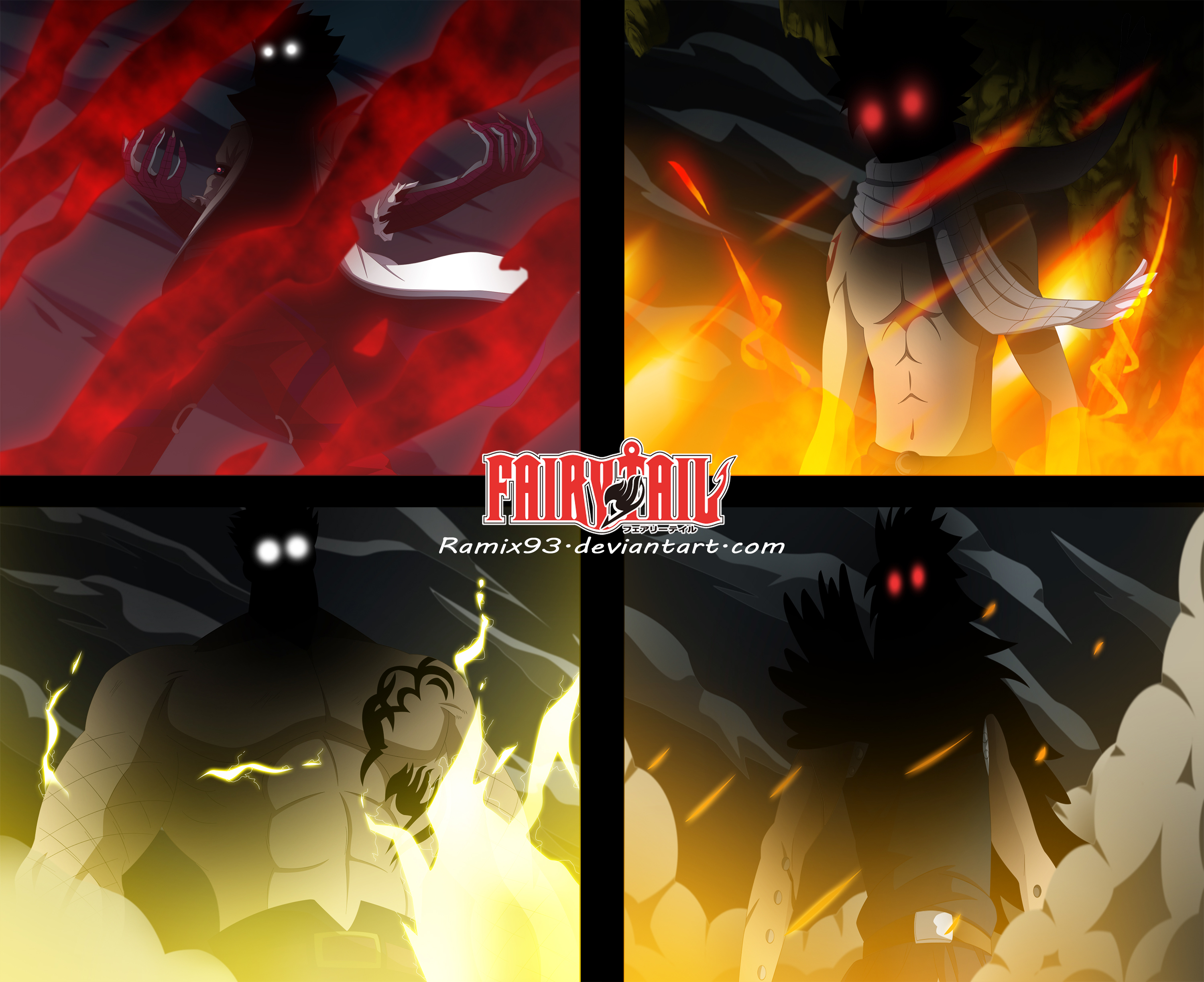 Free Download Fairy Tail Dragon Slayers By Cursedicedragon
