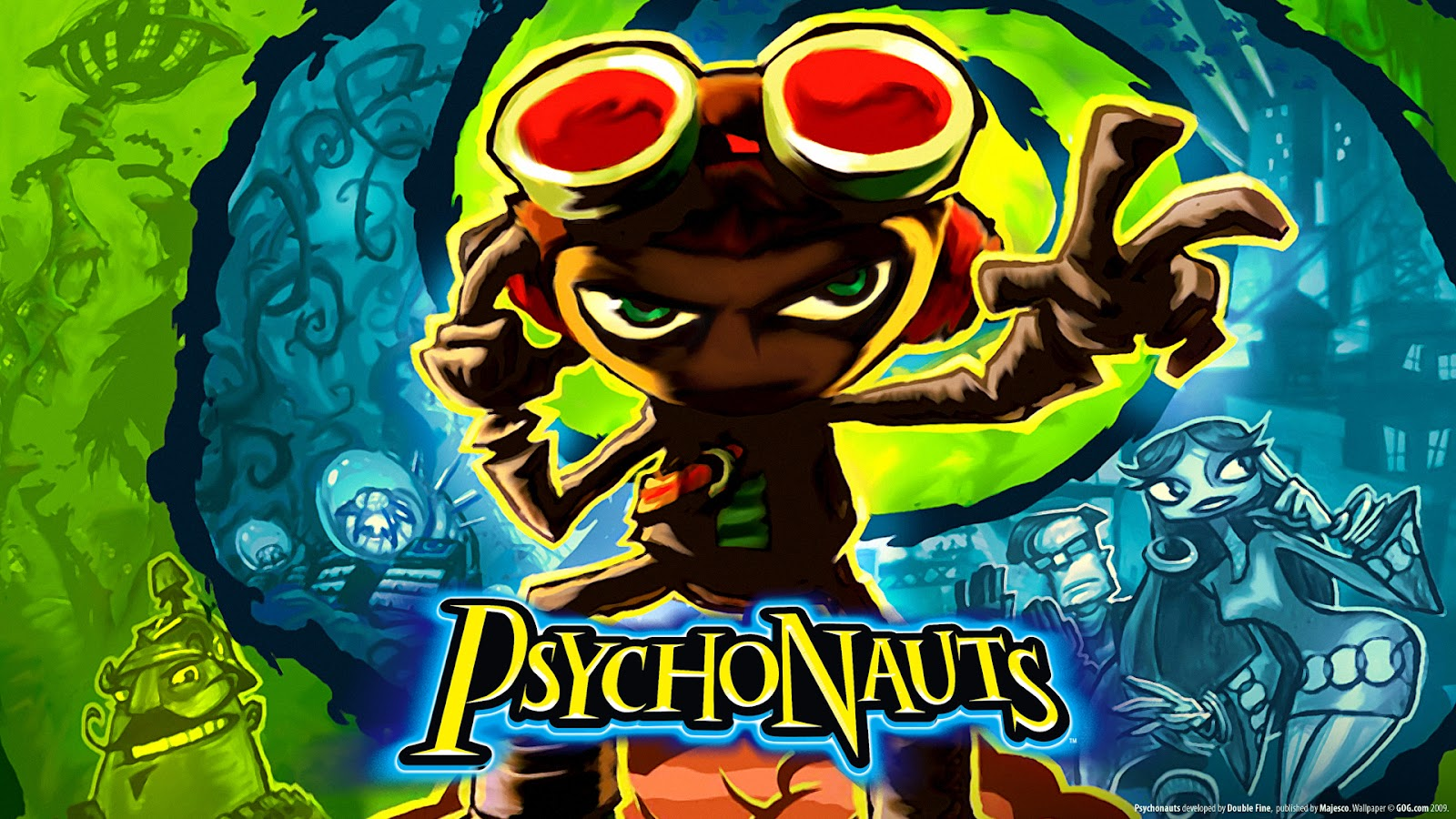 The greatest game ever made Psychonauts is for just two 1600x900