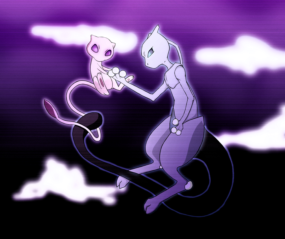 Pokemon Mew And Mewtwo Wallpaper Images Pictures   Becuo 1000x838