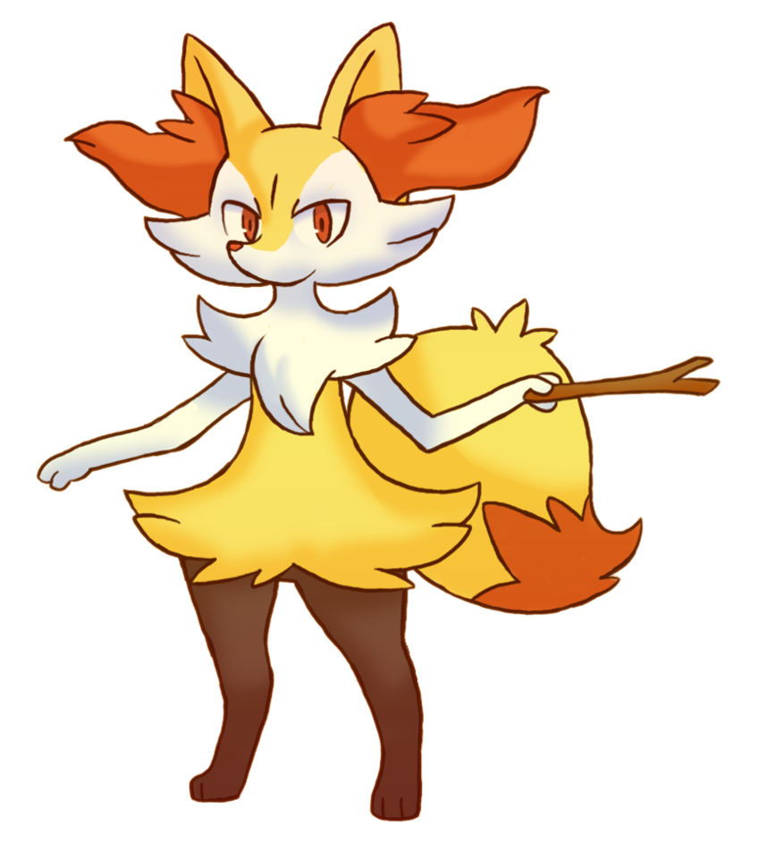 Braixen by RokuGurin 848x942
