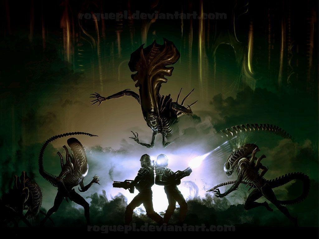 Aliens Movie Wallpapers 1024x768