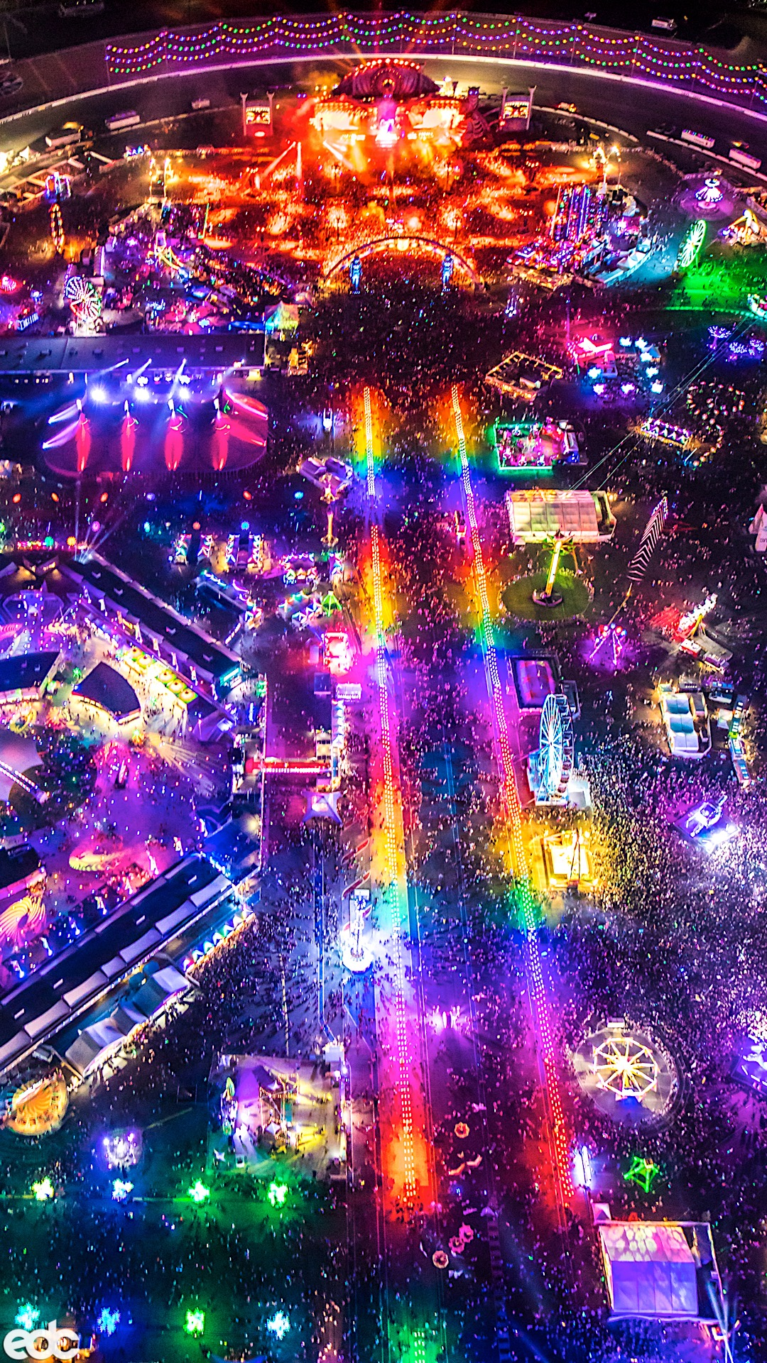 Download These Epic EDC Las Vegas Wallpapers for Your Phone 1080x1920