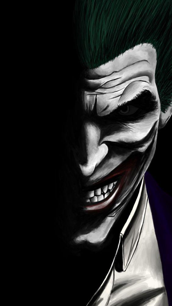 Pin by Captn Jay on Joker in 2019 Joker Joker wallpapers Joker art 564x1002