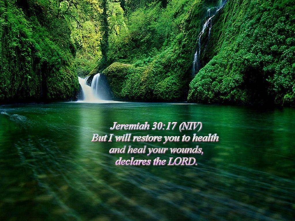 Christian Wallpapers Bible Verse Wallpaper Jeremiah 3017 1024x768