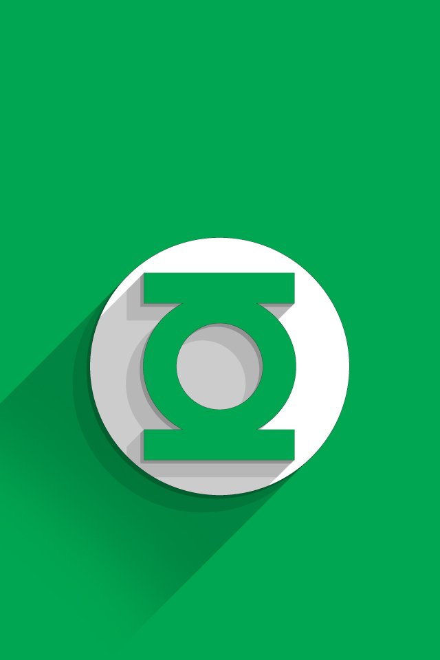 green lantern logo iphone wallpaper