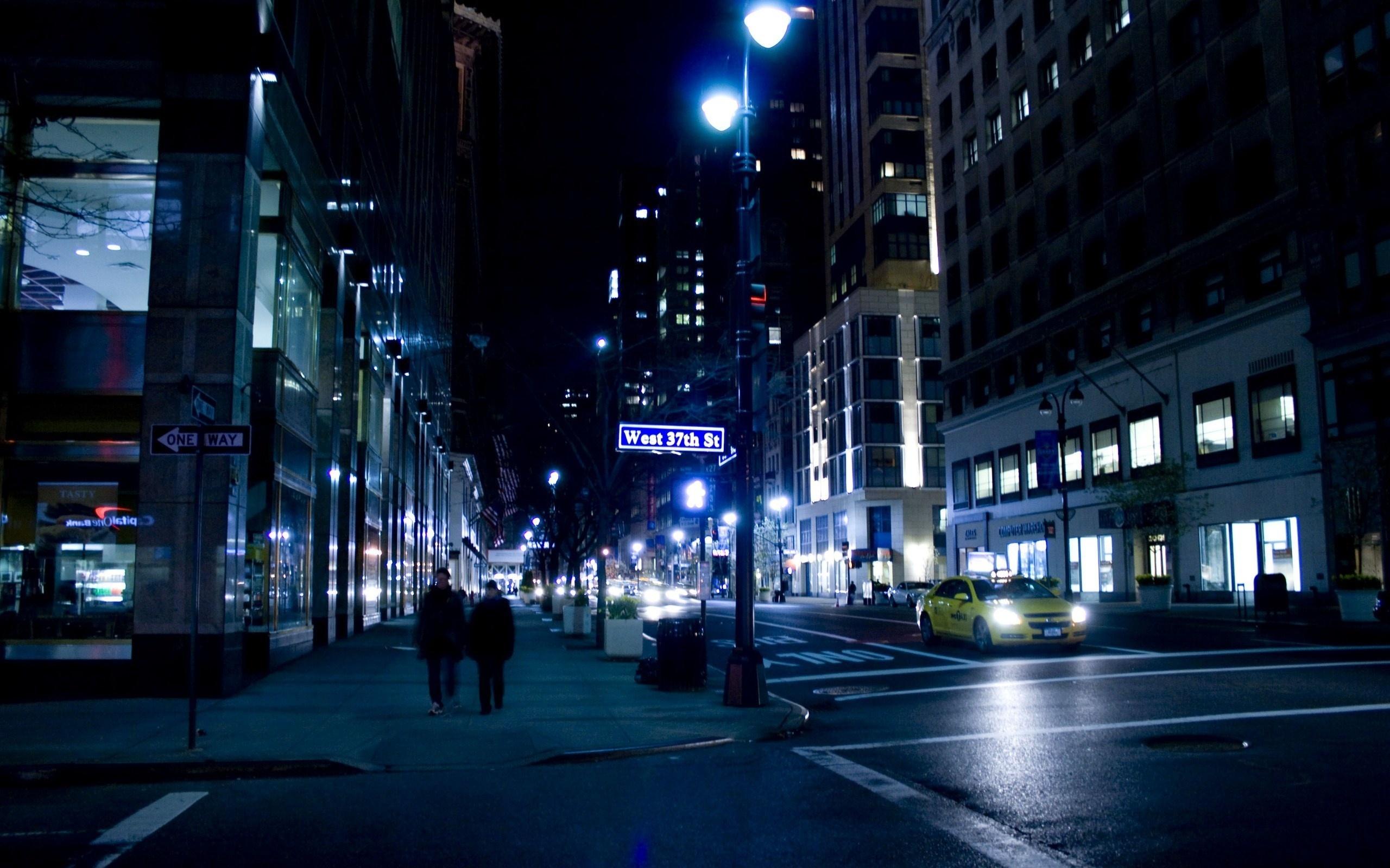 New York Night Wallpaper 2560x1600