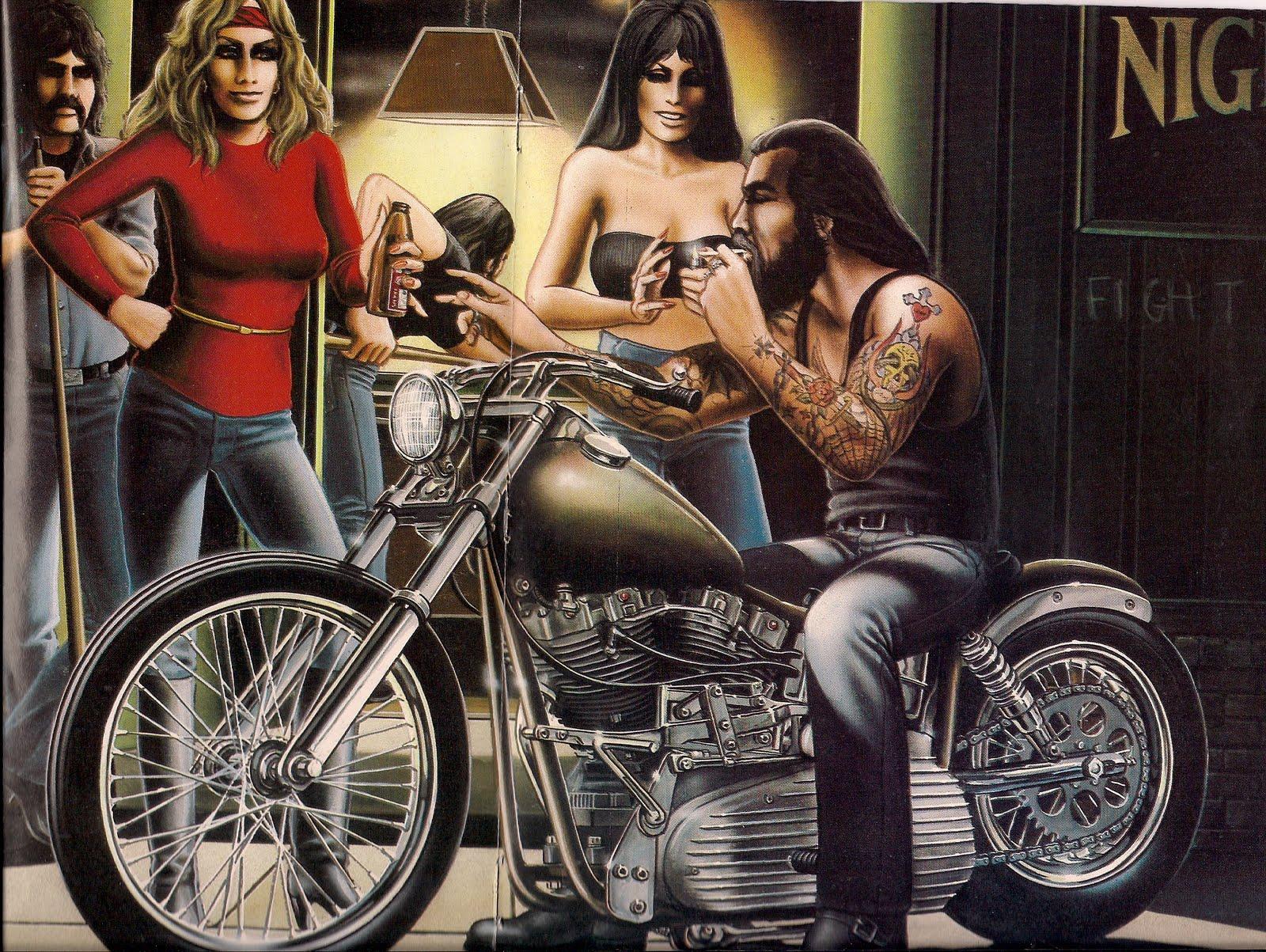ENOB CLUB Biker Artist   David Mann 1600x1203