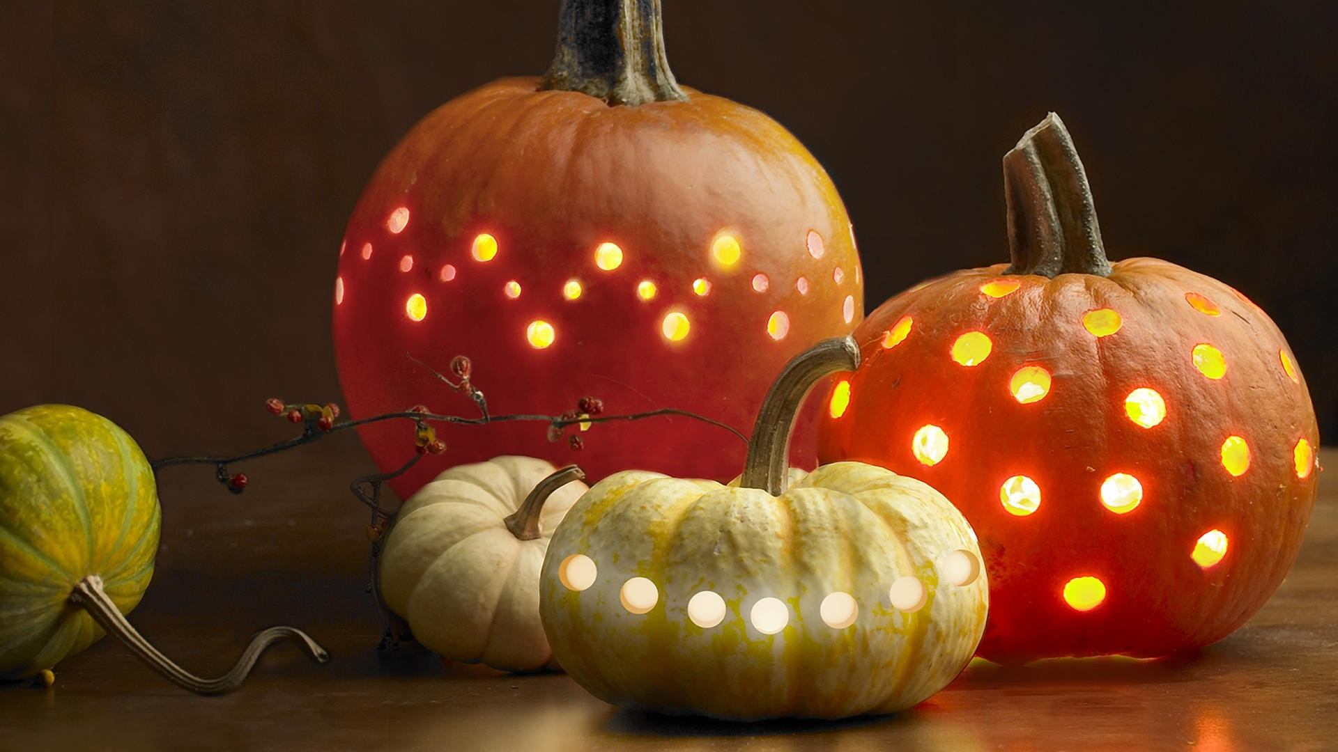 Pumpkin Lights Google Skins Pumpkin Lights Google Backgrounds 1920x1080