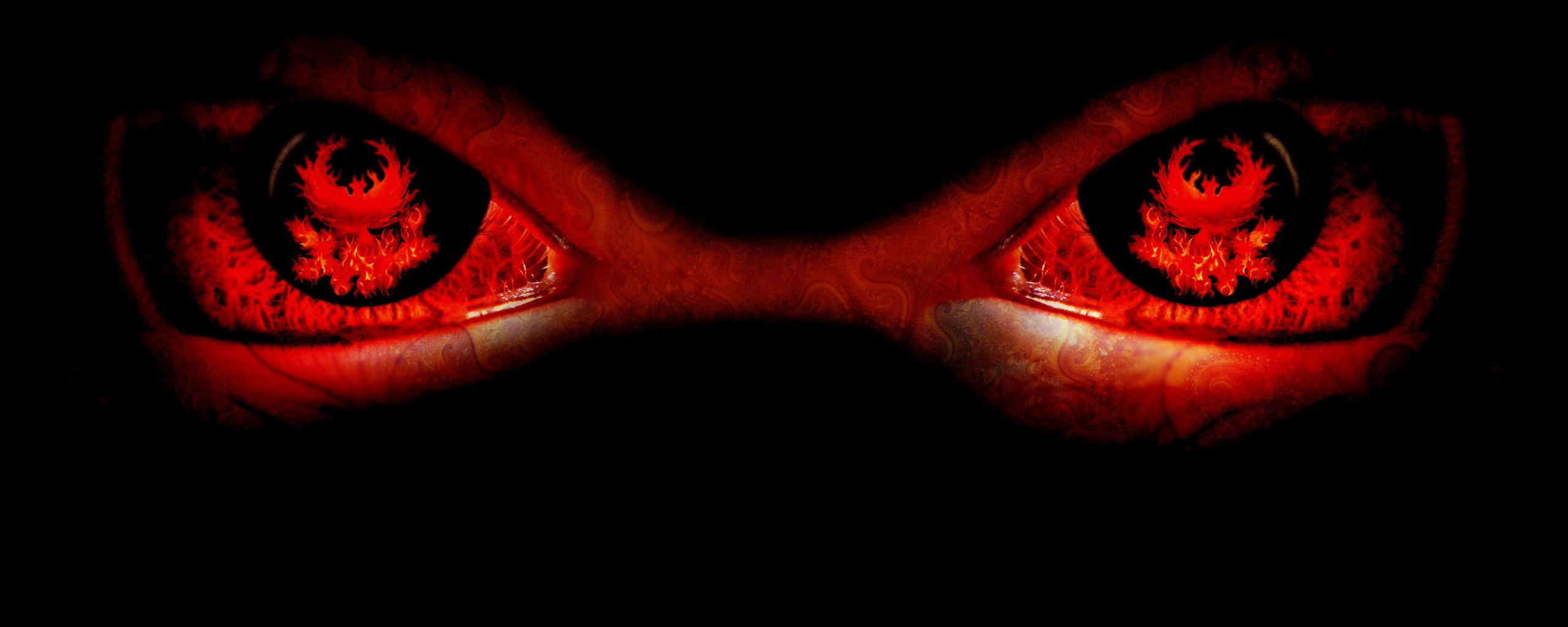 Evil Eyes by Luton 2560x1024