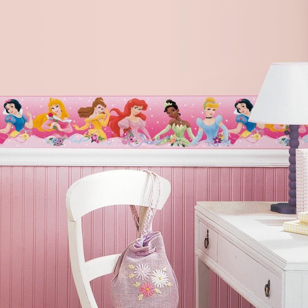 Free Download New Pink Disney Princess Wallpaper Border Wall Decals Girls Bedroom 1000x1000 For Your Desktop Mobile Tablet Explore 48 Disney Wallpaper Border Girls Disney Wallpaper Borders Disney Wallpaper