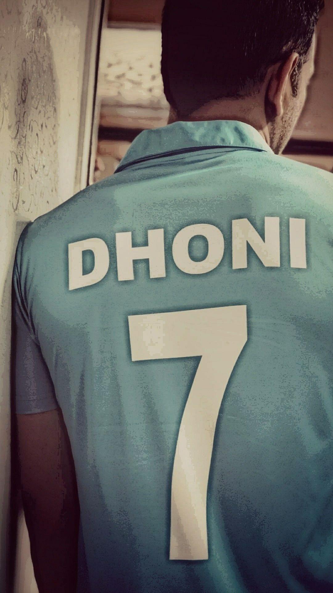 Mahendra Singh Dhoni Jersey no 7 Dhoni wallpapers Ms dhoni 1080x1920