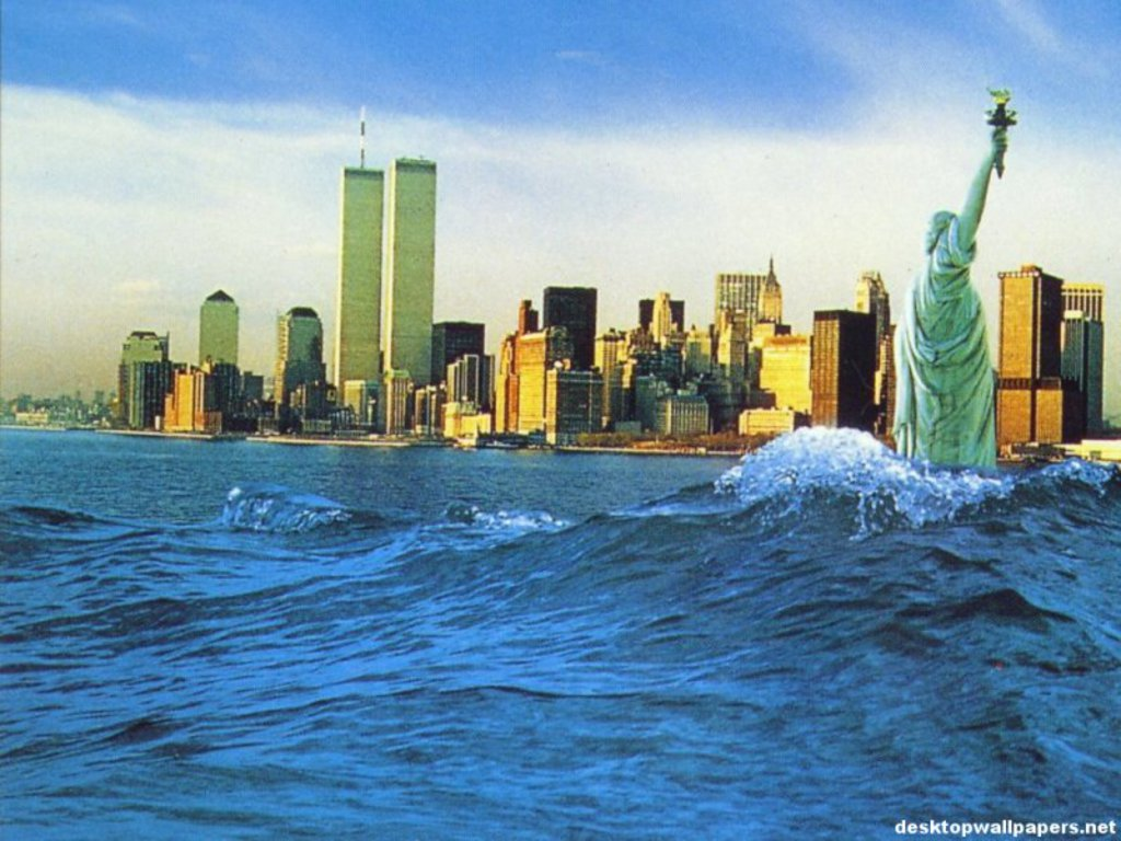 New york city skyline wallpaper wallpapersafari - New york skyline computer wallpaper ...