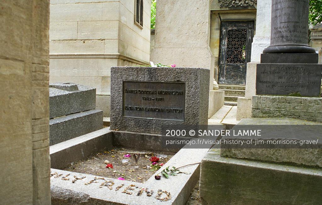 Visual history of Jim Morrisons grave Paris Mojo 1024x653