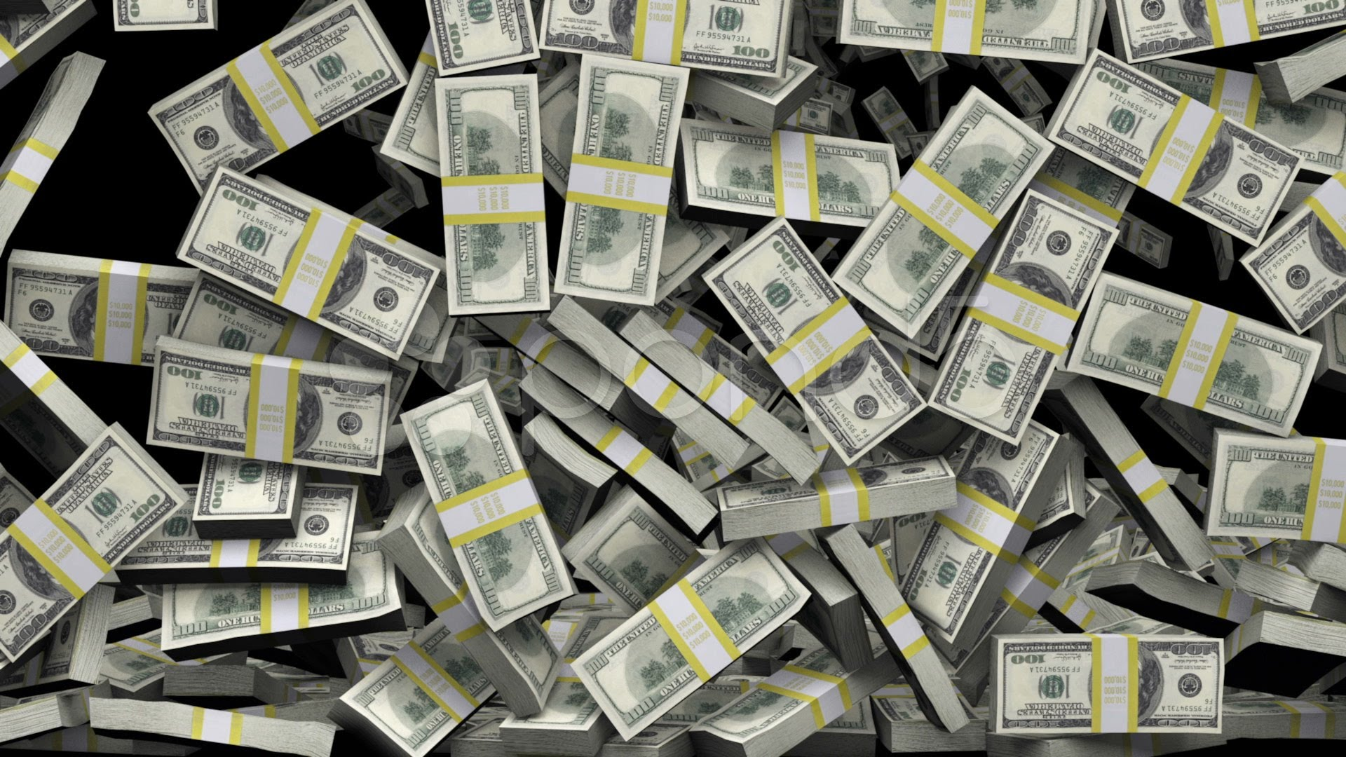 Free Download Money Stacks Wallpaper 1920x1080 For Your