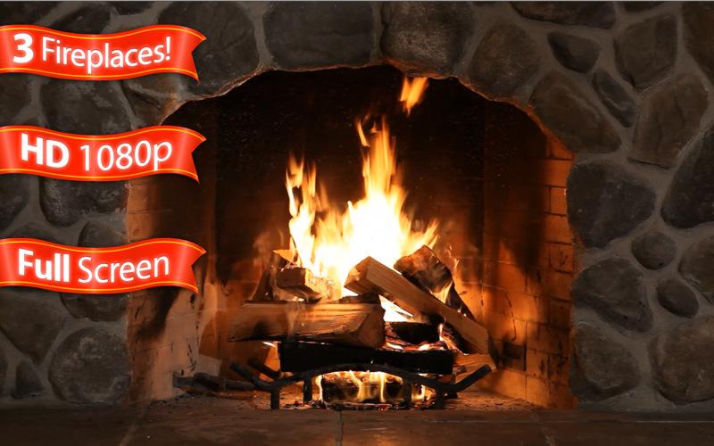fireplace animation Mac softwares 800x500