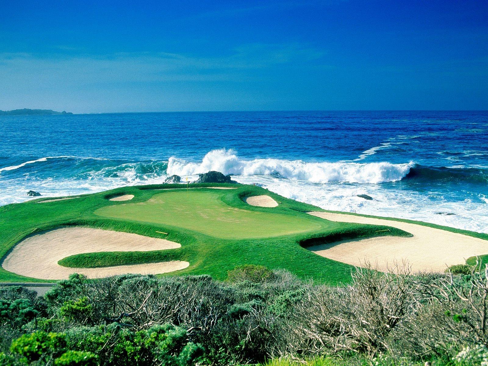 Stunning Golf Fields Landscapes HD Wallpaper Download Wallpapers 1600x1200