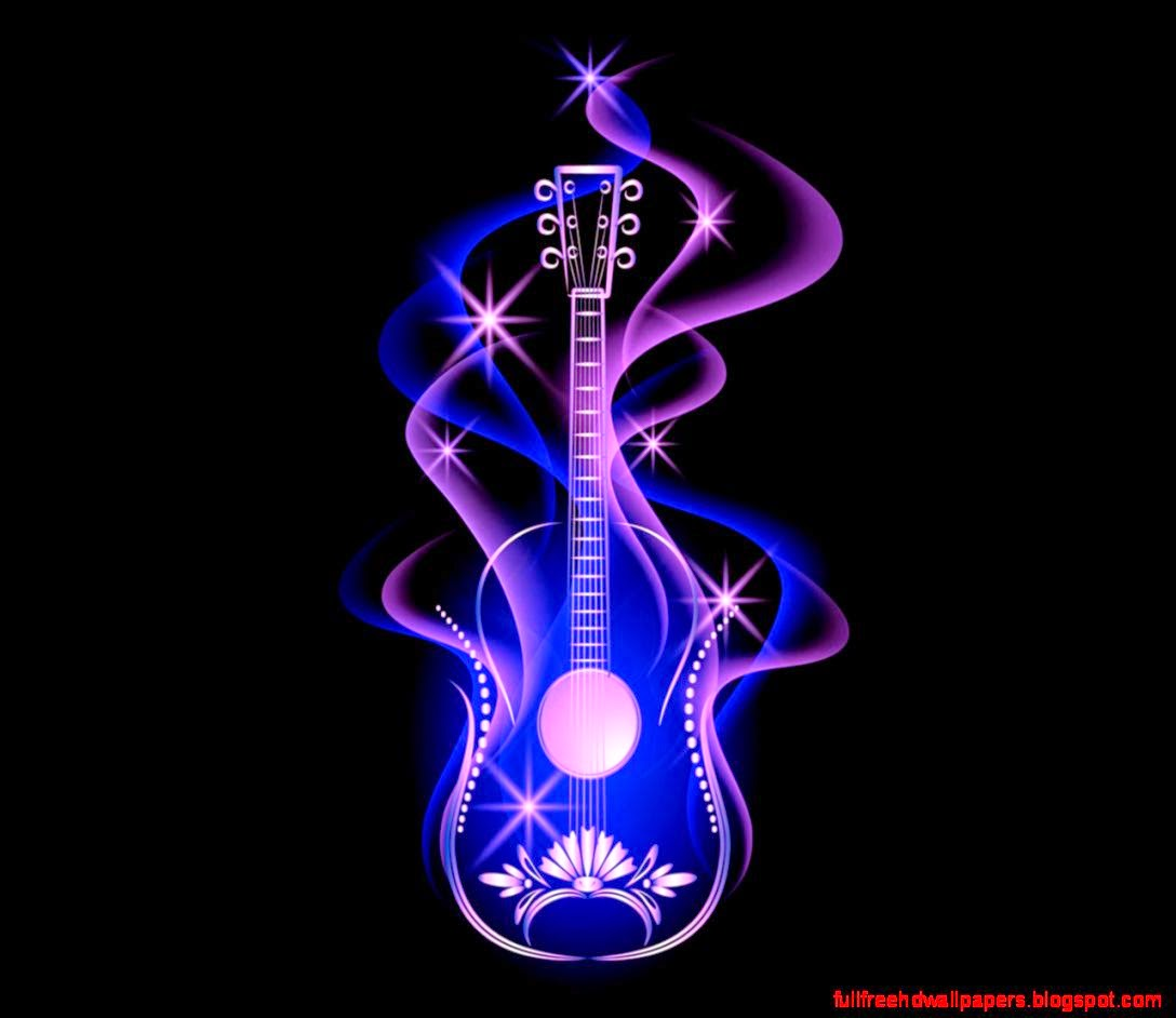 Cool Guitar Backgrounds