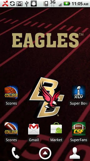 View bigger   Boston College Live Wallpaper for Android screenshot 288x512