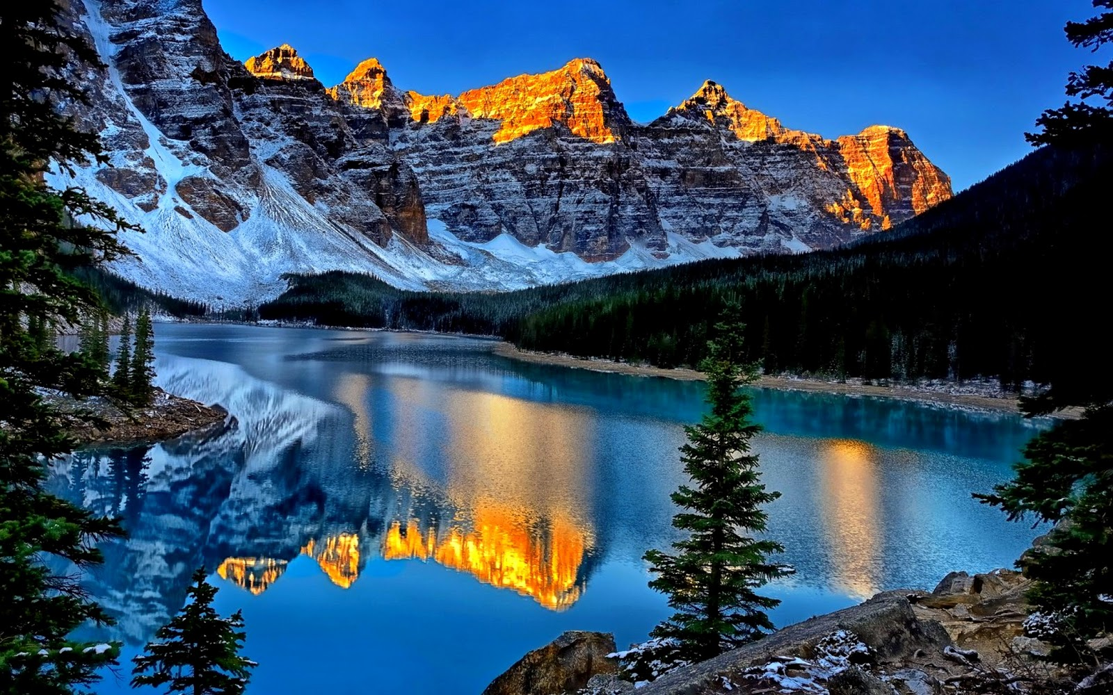 Moraine Lake Canada Best Places to Visit 1600x1000